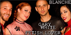 Montreal Fetish Weekend 2009 photo gallery by Gary White . Fetish Lover . Blanche & their kinky photographer friends
